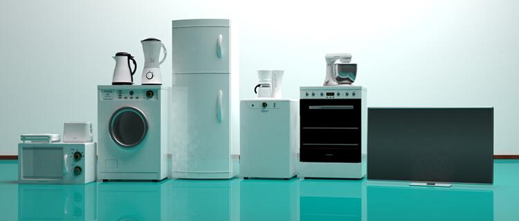 家電リサイクル法の対象品目