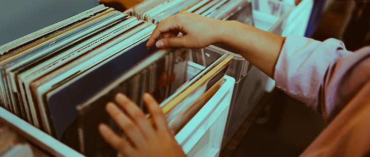 レコードの買取イメージ1