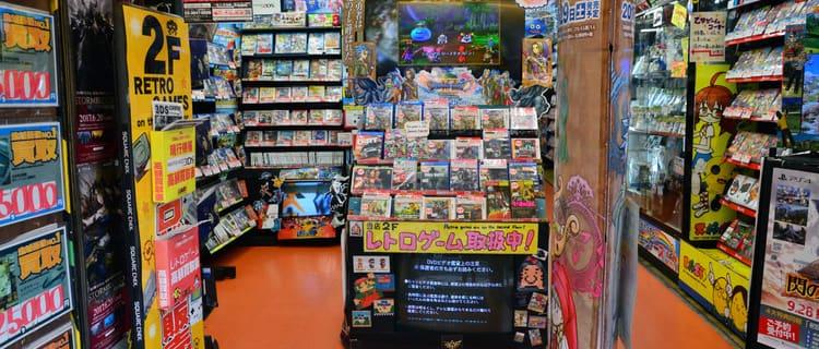 大手のゲーム買取店